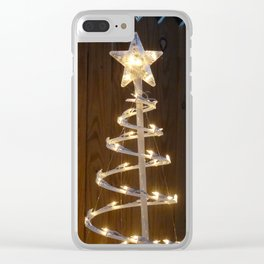 Southern Christmas Clear iPhone Case