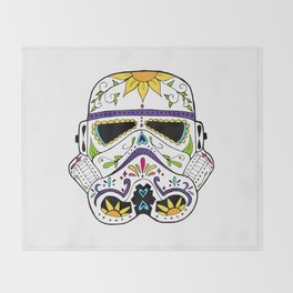 Day of the Death Star Stormtrooper Throw Blanket