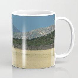 Horses in Field in Utah Coffee Mug