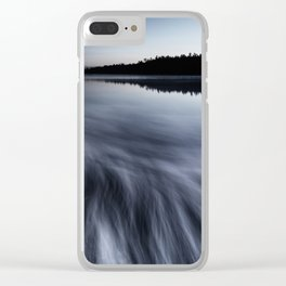 Mist of Dawn Clear iPhone Case