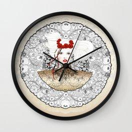 GOLDEN MARCH Wall Clock