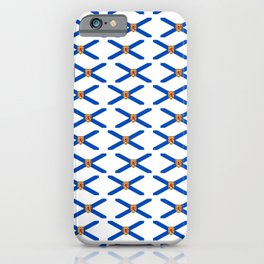 flag of nova scotia- nova scotian,bluenoser,halifax,cape breton,nueva escocia,nouvelle écosse. iPhone Case