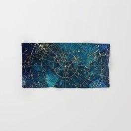 Star Map :: City Lights Hand & Bath Towel