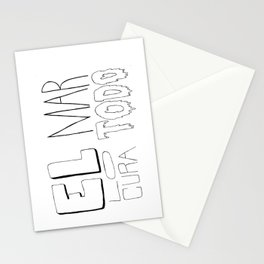 El mar lo cura todo Stationery Cards