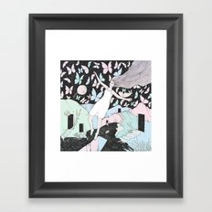 Butterfly Sky (Memories in a Dream) Framed Art Print