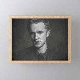 Tom Felton Framed Mini Art Print