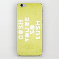 Gosh (Lush) iPhone & iPod Skin