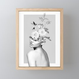 Floral beauty 2 Framed Mini Art Print