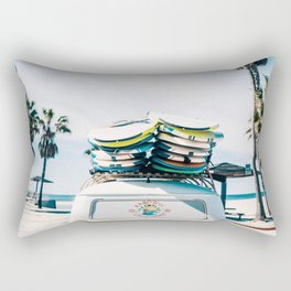 Surfing van Rectangular Pillow