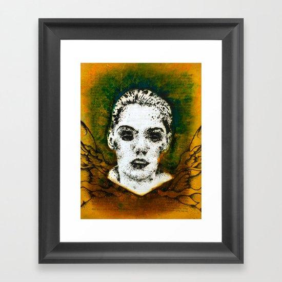 Wings Series One (Angel) Framed Art Print