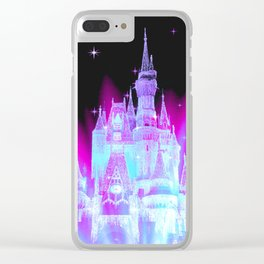 Enchanted Fairy Tale Castle Clear iPhone Case