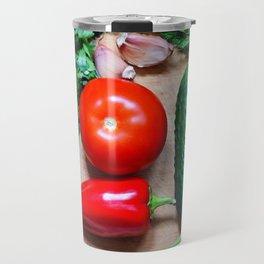 Still life with vegetables. Travel Mug