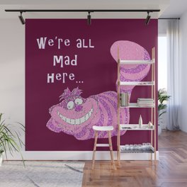 The Cheshire Cat Wall Mural