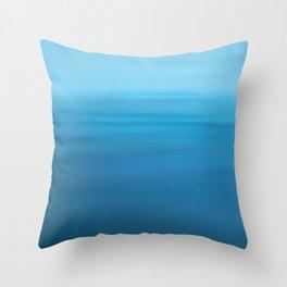 Deep Droplet Throw Pillow