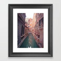 Venetian Corridor Framed Art Print
