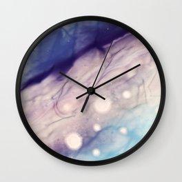 Watercolor dreamscape Wall Clock