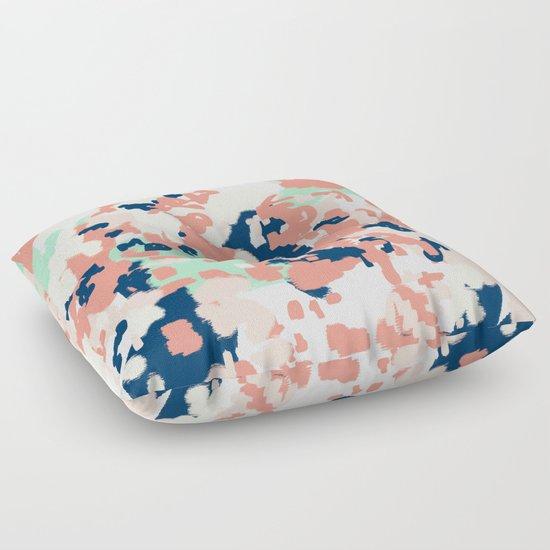 Floor Cushions For Nursery : Kiela - abstract painting pattern minimal basic nursery decor home trends colorful art Floor ...