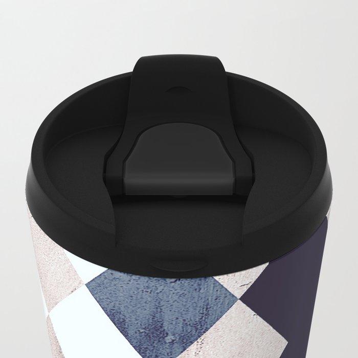 Burlesque texture Metal Travel Mug