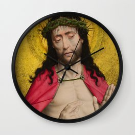 Christ Crowned with Thorns by Dirk Bouts Wall Clock