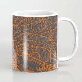 Hamburg map Coffee Mug