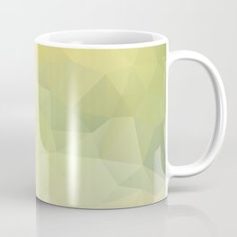 """Sunray in the water"" triangles design Coffee Mug"