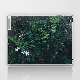 Fleurs Vertes Laptop & iPad Skin