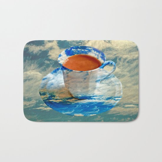 CUP OF CLOUDS Bath Mat