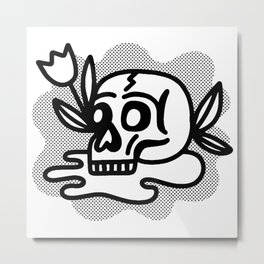 life & death Metal Print