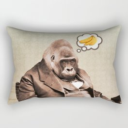 Gorilla My Dreams Rectangular Pillow