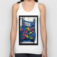 converse Tank Tops featuring Converse by Tina Mooney