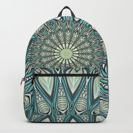 Eye of the Needle Mandala Art Backpack