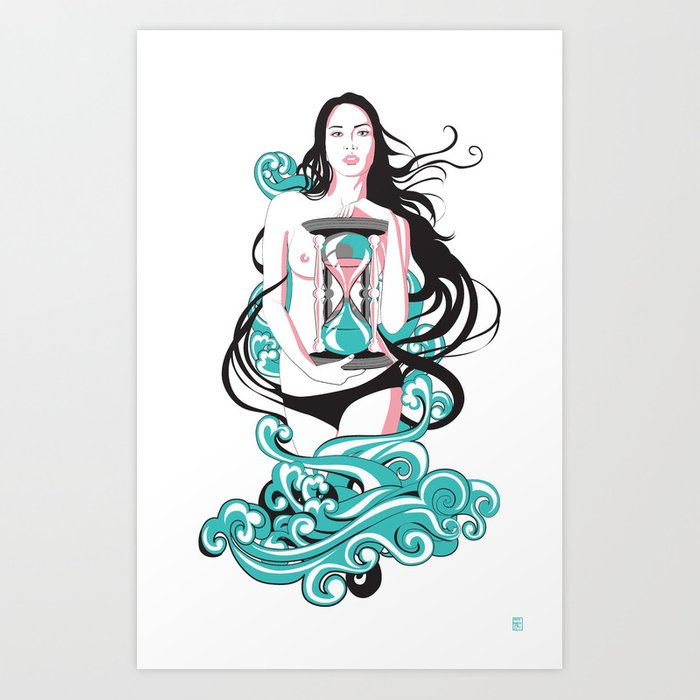 Time the Tempest Art Print