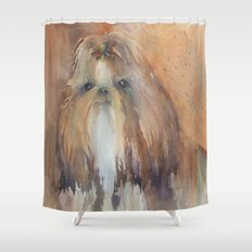 She's Who? Shower Curtain
