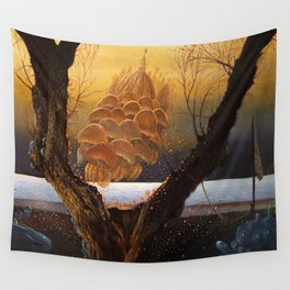 An der Shwelle Wall Tapestry