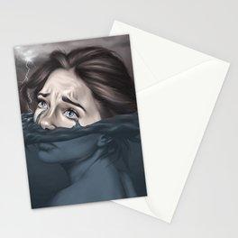 Raining in Atlantis Stationery Cards