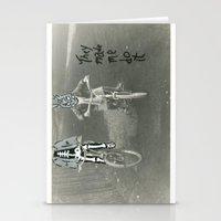 donnie darko Stationery Cards featuring Donnie Darko by Little Francis