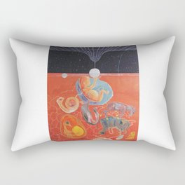 From gestation to the evolution of abstract thinking Rectangular Pillow