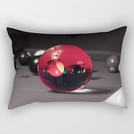 Pool Table Illusions Rectangular Pillow