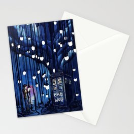 Tardis Art Of The Journey Stationery Cards