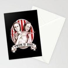 Tattler Twins (edited) Stationery Cards