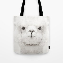 SMILING ALPACA Tote Bag