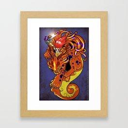 Foo Punch! Framed Art Print
