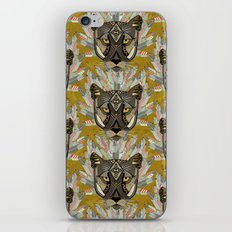 native mountain lion gold iPhone Skin