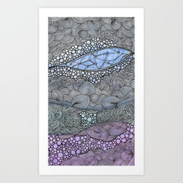 Poppin' With Color Art Print