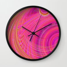Re-Created  Hurricane 6 by Robert S. Lee Wall Clock