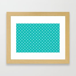 Supreme LV Tiffany Framed Art Print
