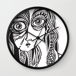 Complicated explantion Wall Clock