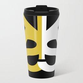 Kia Sterling G/W/B Metal Travel Mug