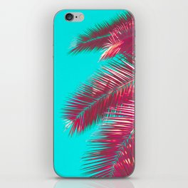 Neon Palm iPhone Skin