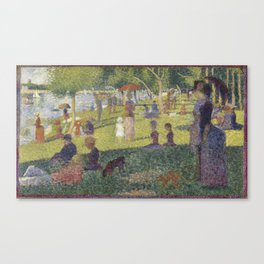 Georges Seurat's A Sunday Afternoon on the Island of La Grande Jatte Canvas Print